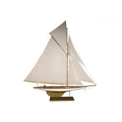 Maquette voilier RELIANCE de luxe - 75cm -