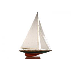 Maquette voilier SHAMROCK de luxe - 75cm -