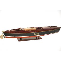 Maquette runabouts RAINBOW IV de luxe - 82cm -