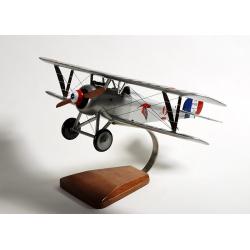 Maquette avion Nieuport 17N Vieux Charles IV en bois