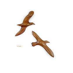 Le vol de l'albatros en bois noble 40 cm (L'exemplaire)