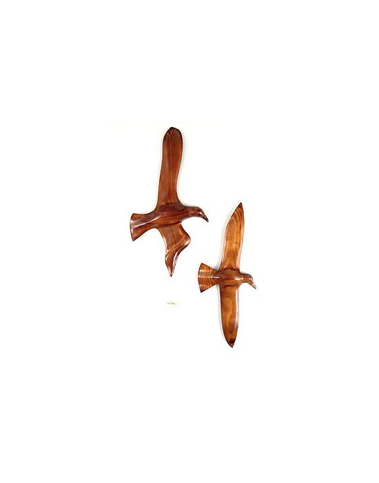 Le vol du goeland en bois noble 60 cm