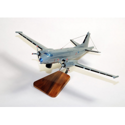 Maquette avion de l'Atlantic 2 Breguet French Navy en bois