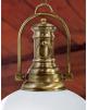 Luminaire de luxe Madeira opaline laiton massif - 30cm -