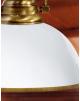 Luminaire de luxe Madeira opaline laiton massif - 34cm -