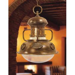 Luminaire de luxe Martinica laiton massif - 53cm -