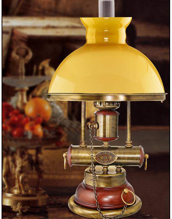 Luminaire de luxe Aphrodite opaline et laiton massif - 48cm -