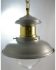 Luminaire marin laiton - Suspension Inox -