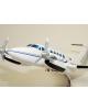 Maquette avion Beechraft 200 Super King Air Civil en bois