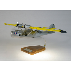 Maquette avion Catalina PBY-5 US Coast Guard en bois