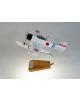 Maquette avion Nakajima A6M2-N en bois