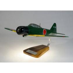 Maquette avion Mitsubishi A6M5 Zero en bois