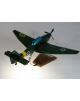 Maquette avion Junkers Ju.87 Stuka en bois