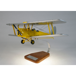 Maquette avion De Havilland Tiger Moth DH.82 en bois