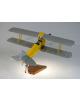 Maquette avion De Havilland Tiger Moth DH.82 en bois