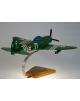 Maquette avion Republic P-47 Thunderbolt en bois