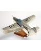 Maquette avion Messerchmitt BF108 Taifun civil marks en bois