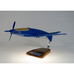 Maquette avion Bugatti Model 100P en bois