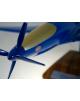 Maquette avion Bugatti Model 100P en bois