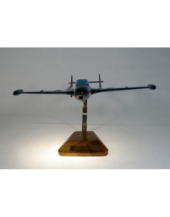 Maquette avion Sncase Aquilon 203 en bois