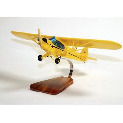 Maquette avion Piper Cub en bois