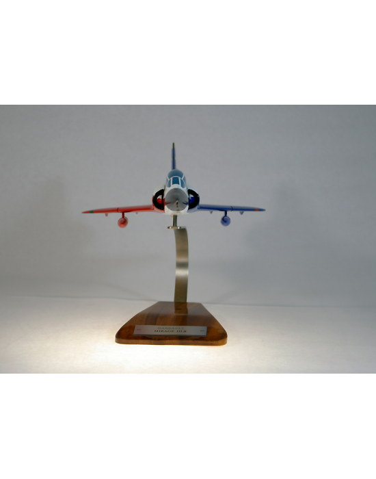 Maquette avion Dassault Mirage III.B Epner en bois