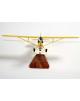Maquette avion du J3 Piper Cub Civil en bois