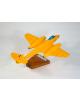 Maquette avion Gloster Meteor MK3 - Yellow Peril en bois