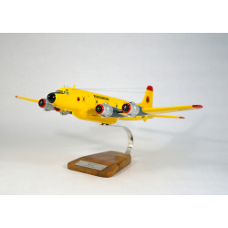 Maquette avion Douglas DC-6 Securite Civile en bois