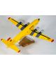 Maquette avion Douglas DC-6 Securite Civile en bois