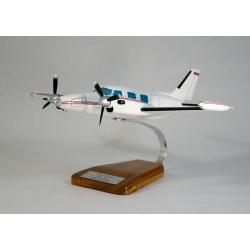 Maquette avion Piper PA-31T Cheyenne en bois