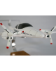 Maquette avion Diamond DA42 Twin Star en bois