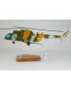 Maquette helicoptere Mil Mi-8T Hip en bois