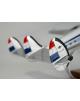 Maquette avion Lockheed Super Constellation 1049G Centaurus K.L