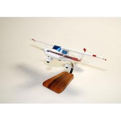 Maquette avion Cessna 150 152 Aerobat Civil en bois