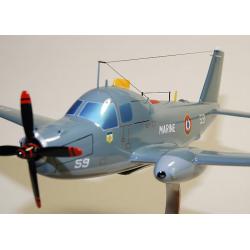 Maquette avion de l'Alizé Breguet Br.1050 French Navy en bois