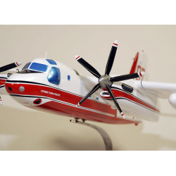 Maquette avion S-2T Tracker Turbo Firecat 07 en bois