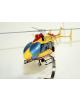 Maquette en bois de l'EC- 145 Sécurité Civile Dragon 25