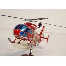 Maquette hélicoptère AS.365C1 Dauphin Sécurité Civile