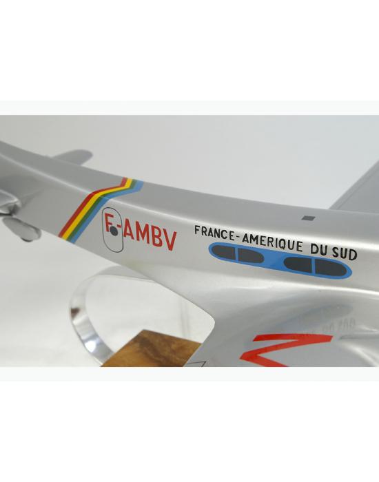 Maquette avion Arc en ciel n°3 Couzinet 70 en bois