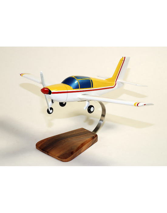 Maquette avion Rallye MS 880 Civil en bois