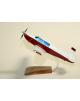 Maquette avion Mooney civil en bois