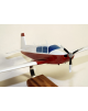 Maquette avion Mooney civil en bois