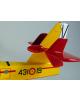 Maquette Canadair CL215T Grupo 43° en bois