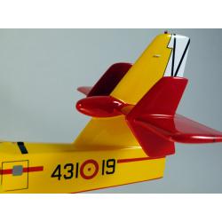 Maquette avion Canadair CL215T Grupo 43° en bois