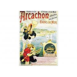 Affiche Arcachon