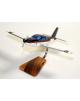 Maquette avion Trinidad TB.20 Civil en bois