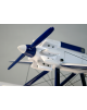 Maquette avion Short Crusader en bois
