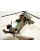 Maquette en bois de l'EC-565 Tigre French Army