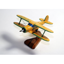 Maquette avion Beech Aircraft 17 Staggerwing Civil
